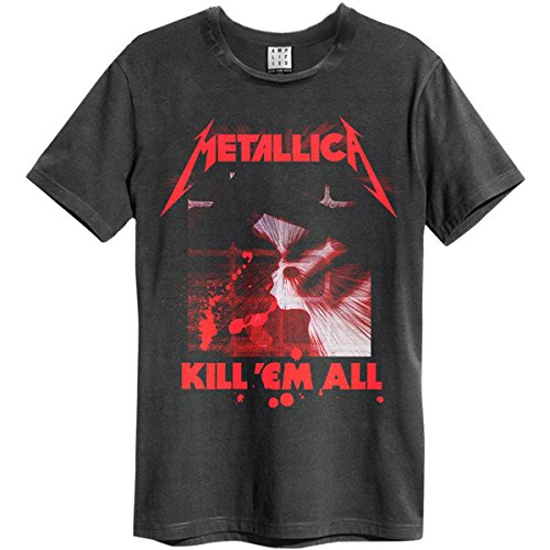 Amplified Shirt Metallica Kill Em All, Größe L, schwarz