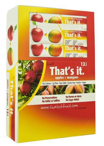 That's It Fruit Bar Apples & Mangoes -- 12 Bars - 2pc