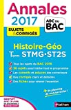 Annales ABC du BAC 2017 Histoire - Géographie Term STMG.ST2S