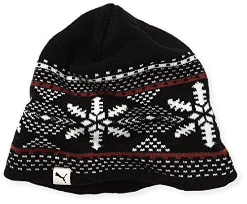 PUMA Mütze Graphic Basic Beanie, Black, One size, 830131 01