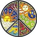 Dan Morris - Peace - Window Sticker / Decal