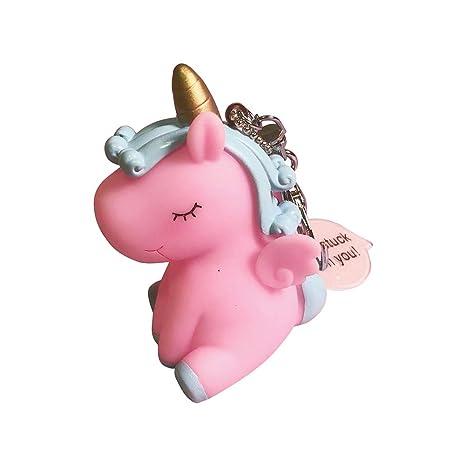 Da.Wa 1X Llavero Unicornio Llavero Llaves para Niñas de ...