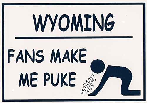 "Review Funny Refrigerator Magnet. ""WYOMING"