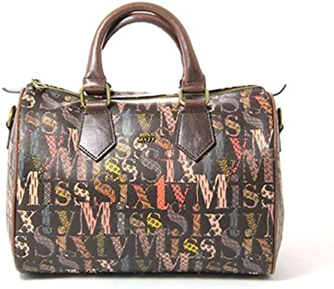 Miss Sixty Women's A01225 XF9117 Top handle Bag Brown Size