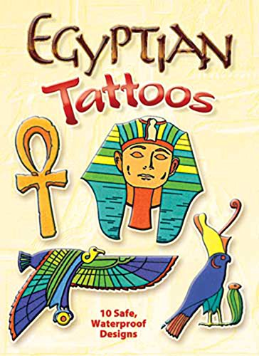 Egyptian Tattoos (Dover Tattoos) (Halloween Art Projects Grade 4)