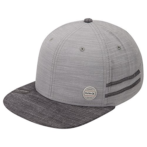 Hurley Mens Work Pin Hat 892029 (One Size, Light (Cap Hat Pin)