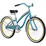 Diamondback Bicycles 2015 Della Cruz Complete Cruiser Bike, 24-Inch/One Size, Teal