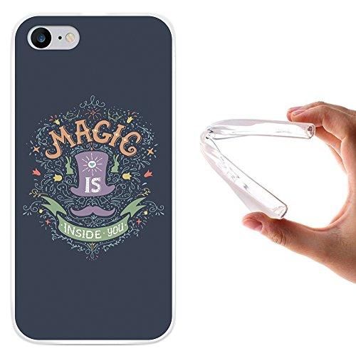 "WoowCase Hülle Case für [ iPhone 7 ] Handy Cover Schutzhülle Satz - ""Magic Is Inside You"""