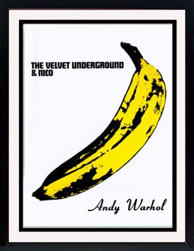 Andy Warhol Banana The Velvet Underground Nico Custom Framed Art Poster Print Posters Prints