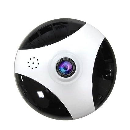 Cámara IP Inalámbrica WiFi Cámara De Seguridad Interior Sistema De Vigilancia Domiciliaria Monitor para Mascotas 360
