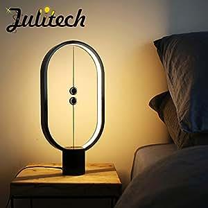 Amazon.com: julitech lámpara de LED lámpara de mesa ...