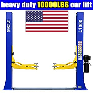 CR 10,000 L1000 220V 2 Post Lift Car Auto Truck Hoist Great Quality !!! / 12 Month Warranty