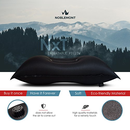 Inflatable-Camping-Hiking-Travel-Pillow-Lightweight-Ultra-Compact-Camping-Gear-for-Men-Women-Ergonomic-Neck-Lumbar-Support-Pillow-Part-of-Backpacking-Essentials-by-Noblemont