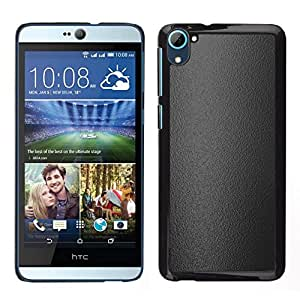 // PHONE CASE GIFT // Duro Estuche protector PC Cáscara Plástico Carcasa Funda Hard Protective Case for HTC Desire D826 / Gray texture /