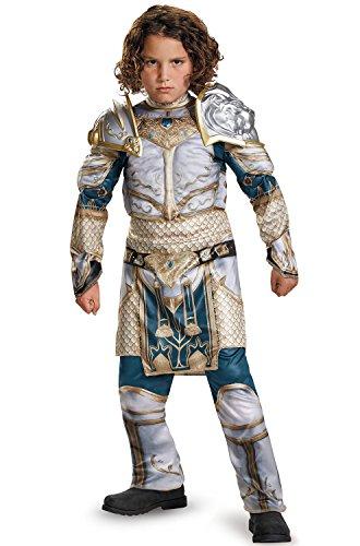 King Llane Classic Muscle Warcraft Legendary Costume, Small/4-6 ()