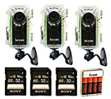 Brinno BCC100 Time Lapse Construction Camera + 3 32GB Memory Cards + Batteries