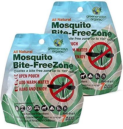 Amazon Com Greenerways Organic Mosquito Repellent Zone Organic
