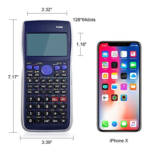 Graphing Calculator, PRYMAX TX800 CE Scientific Graphing Calculator
