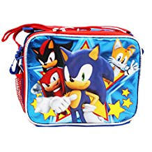 Sonic the Hedgehog Sonic, Shadow, Tails, and Knuckles Insulated Lunch Bag
