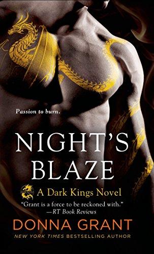 Night's Blaze: A Dragon Romance (Dark Kings Book - Blaze Dark