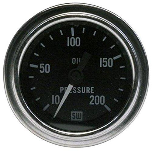 Oil Press Gauge 2-1/16 Inch Mech 10-200psi DLX 82324 1 MIN