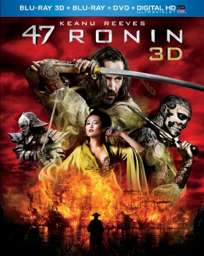 - 47 Ronin (Blu-ray 3D + Blu-ray + DVD + Digital HD with UltraViolet)