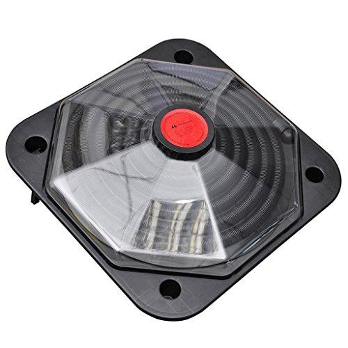 vidaXL Solar Pool Heizung Hohe Effizienz 735 W