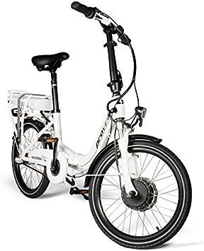 provelo PR-2135 Bicicleta Eléctrica, Unisex Adulto, Blanco, Talla ...