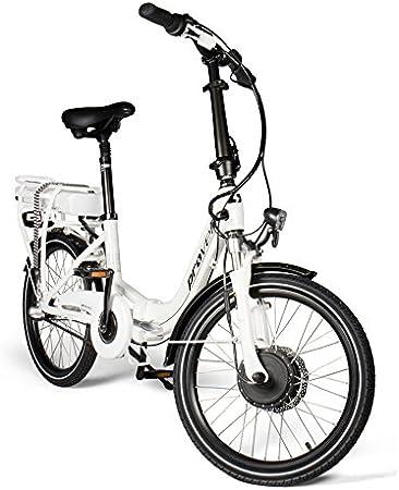 provelo PR-2135 Bicicleta Eléctrica, Unisex Adulto, Blanco, Talla Única
