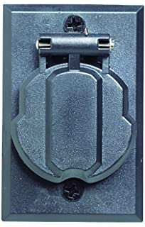 Design House 502112 Replacement Electrical Outlet  BlackAmazon com   S 338 Replacement Electrical Outlet for Outdoor Lamp  . Outdoor Light Pole Electrical Outlet. Home Design Ideas