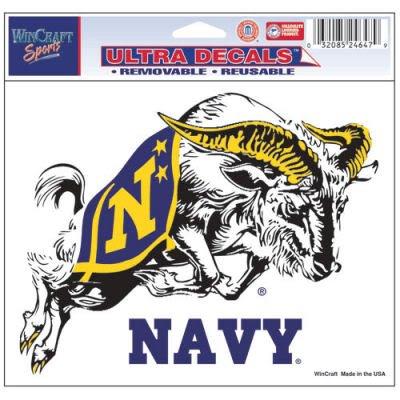 navy car window decals - 2