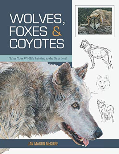 wolves drawing book - 2