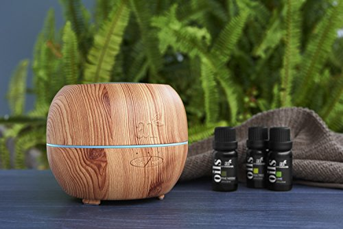 ArtNaturals Aromatherapy Essential Oil Diffuser – (5.0 Fl Oz / 150ml Tank) – Ultrasonic Aroma Humidifier - Adjustable Mist Mode, Auto Shut-Off and 7 Color LED Lights – For Home, Office & Bedroom by ArtNaturals (Image #4)