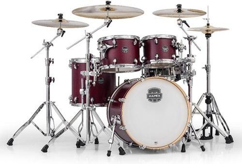 Mapex Armory Series 5-Piece Jazz/Rock Shell Pack Cordovan Red