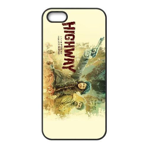 Highway 2014 coque iPhone 4 4S cellulaire cas coque de téléphone cas téléphone cellulaire noir couvercle EEEXLKNBC25745