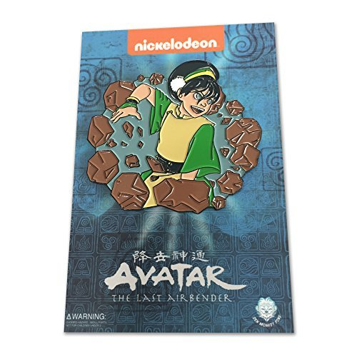 "Avatar: The Last Airbender - Earthbender Toph - 2"" Collectible Pin"