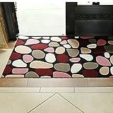 Door mat,Gate pad,Rug,The entrance of the door non-slip mat,Doormat,Ultra-thin,[absorbent],Adjustable foot pads,The door,Lobby waterproof mat-D 100x200cm(39x79inch)