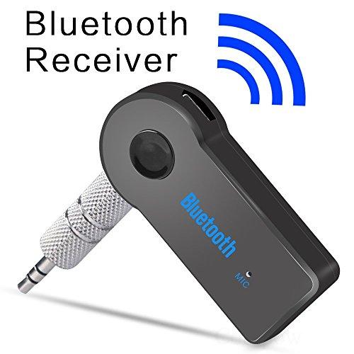 Bluetooth música audio estéreo adaptador receptor para coche 3.5 mm AUX altavoz para el hogar MP3 para coche música...