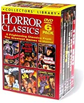 Horror Classics (Devil Bat / Night of the Living Dead / Ape Man / White Zombie / The Ape / The Bat) (6-DVD)