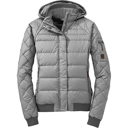 Research Jacket Fall Outdoor - Outdoor Research Women's Placid Down Jacket, Alloy, S