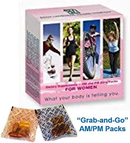 Peak365 Women's Daily Vitamin System | Body Language Vitamins | Best Multivitamin System for Women | Includes Full Month Supply of Five Products | Featuring