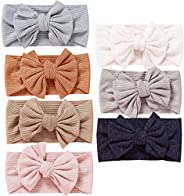Mookiraer Baby Girl Newest Turban Headband Head Wrap Knotted Hair Band