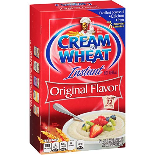 Cream of Wheat Instant Hot Cereal, Original, 1 Ounce, 12 Packets