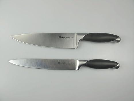 TUPPERWARE Cuchillo del Chef Chef Series Pro + Cuchillo ...