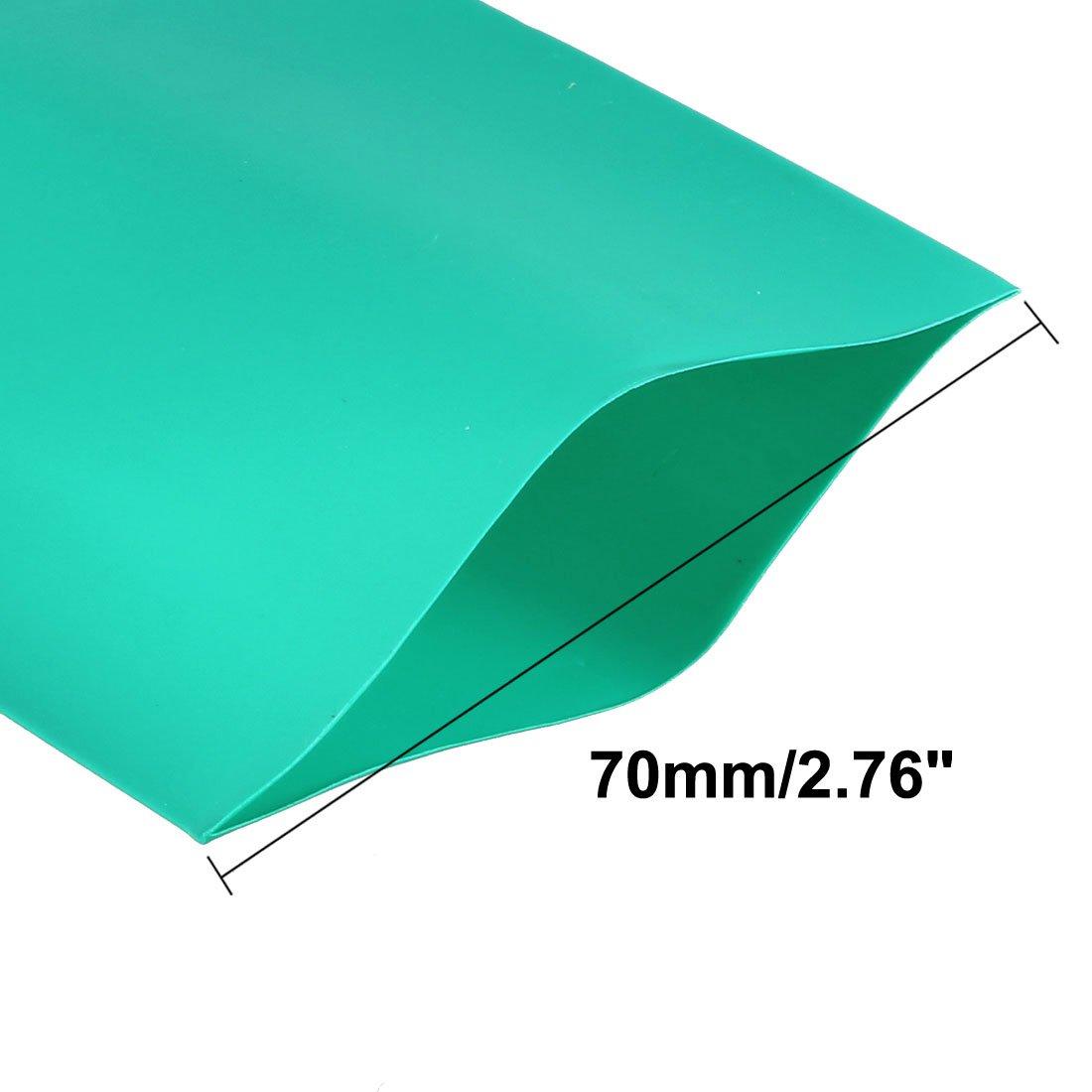 sourcingmap/® 20pcs 72mm x 18.5mm PVC tube thermor/étractable 1 x Batterie 18650
