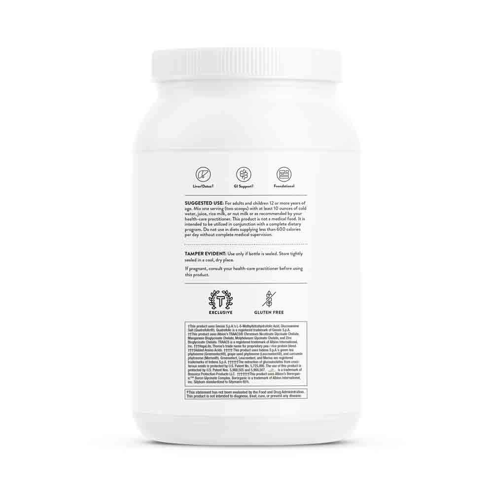 Thorne Research - MediClear-SGS (Vanilla) - Detox, Cleanse, and Weight Management Support - Rice and Pea Protein-Based Drink Powder with a Complete Multivitamin-Mineral Profile - 37.8 oz. by Thorne Research (Image #9)