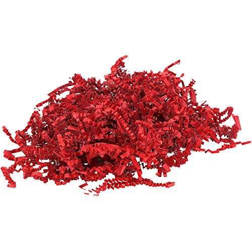 JAM Paper® Shred Tissue Paper Krinkeleen - Red - 40 lb/box by JAM Paper