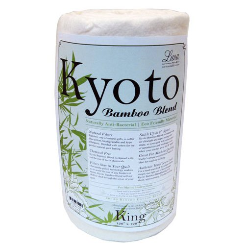 Kyoto Bamboo Rayon Blend Batting (120in x 120in) King by MODA