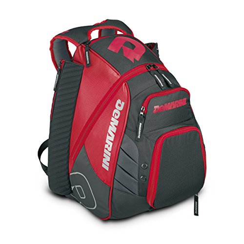 DeMarini Voodoo Rebirth Backpack, Scarlet
