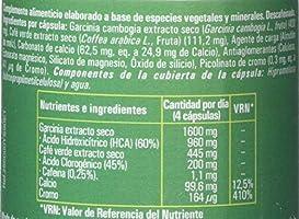 Ynsadiet Garcinia Cambogia Con Extracto de Café Verde Sin Cafeina, Complemento Para la Dieta, Complemento alimenticio Natural, Control de Peso, Perdida de Peso, 90 Cápsulas: Amazon.es: Salud y cuidado personal